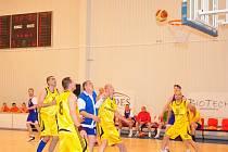 MČR veteránů v basketbale M40 BK Klatovy - BK Košíře.