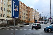 Dobrovského ulice v Klatovech.