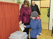 Druhý den prezidentských voleb na Šumavě.