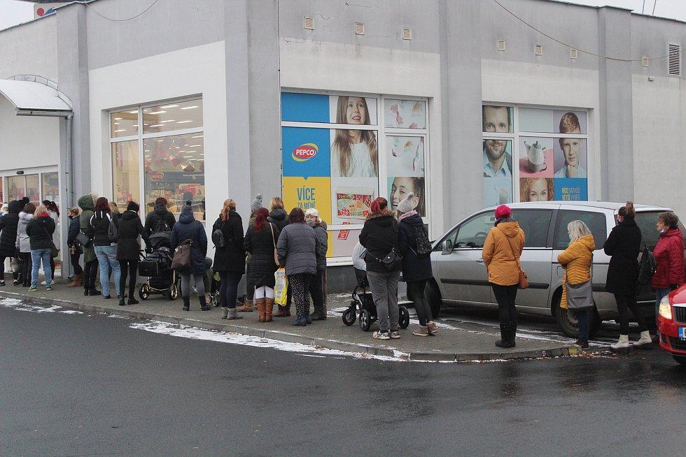 Rozvolňování v Klatovech.