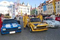 Cíl Historic Vltava Rallye 2010