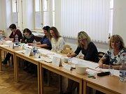 Komunální volby 2018 na Klatovsku - Horažďovice, okrsek č. 1, městský úřad