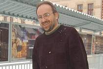 Vedoucí klatovského kina Karel Kotěšovec