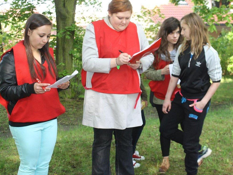 Okresní kolo soutěže mladých záchranářů v Klatovech
