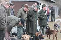 Jarní svod psů v Lubech