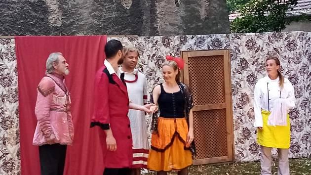 Divadelní představení v Chudenicích.