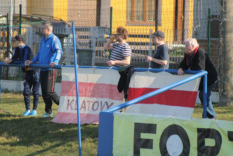 Klatovy (v bílém) vs. Hořovicko.