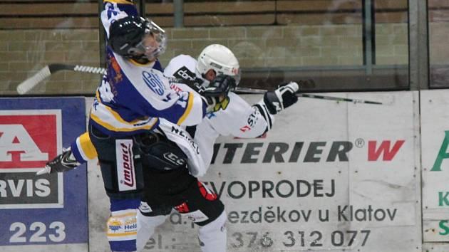 Přípravný zápas HC Klatovy - EHC Waldkraiburg 2:3.