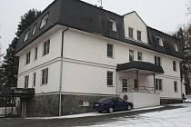 Budova bývalého plicního oddělení v Klatovské nemocnici