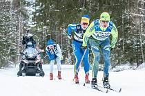 Vasův běh 2017: Jan Šrail (č. 172) z Nové Hůrky u Prášil doběhl na 43. místě