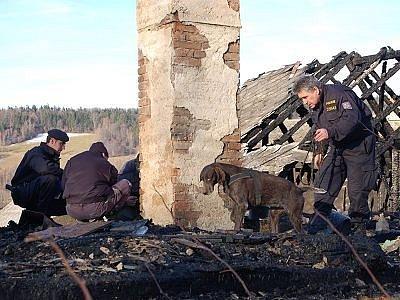 Požár v Divišovicích si vyžádal škodu tři sta tisíc korun.
