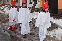 Tříkráloví koledníci ve Velkém Boru