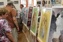 Zahájení výstavy ve Velkém Boru.