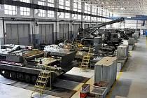 Hala oprav vojenské techniky v klatovských kasárnách