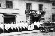 Řeznictví v Pražské ulici v Klatovech