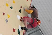 Otevření lezecké stěny v Klatovech