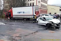 Nehoda v Nýrsku.