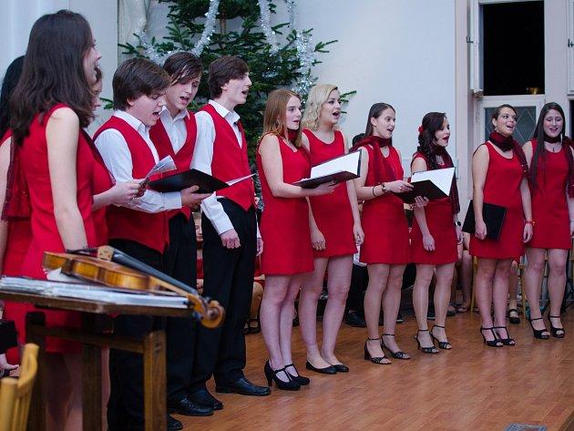 Vánoční koncert Sušického dětského sboru.