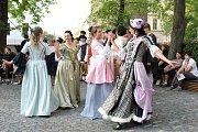 Barokní svatovítská noc a otevření revitalizovaných Vrchlického sadů v Klatovech.