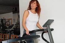 Jaroslava Jelínková z Klatov chodí do fitness centra pravidelne.