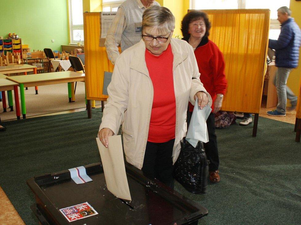 Komunální volby v Klatovech 2014.