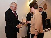 Prezident Miloš Zeman v Sušici
