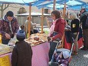 V sobotu 8. dubna se v Horažďovicích konal velikonoční jarmark.