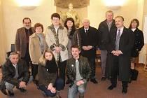 Zástupci obcí a občanských sdružení v Senátu.