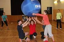 V Klatovech se představil nový sport - kin-ball.