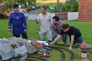 Martin Dejdar natáčel na Klatovsku pořad o železnici
