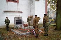 V Horažďovicích si připomněli Den válečných veteránů.