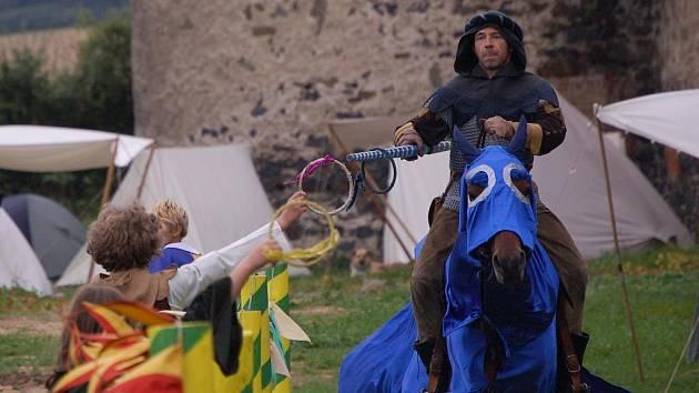 O víkendu se ve Švihově konaly středověké Půtky švihovské.