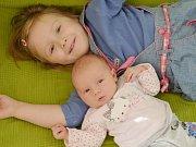 Tereza Prokšová z Brtí (4500 g, 51 cm) se narodila 12. ledna v Hořovické porodnici. Rodiče Bohuna a Jiří přivítali očekávanou dceru na světě společně.   Ze sestřičky má radost Verunka (3 ).