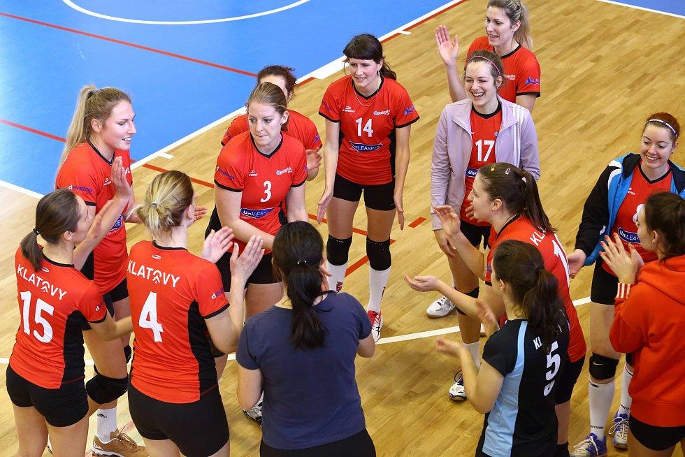 Volejbal Plzeň B x Klatovy