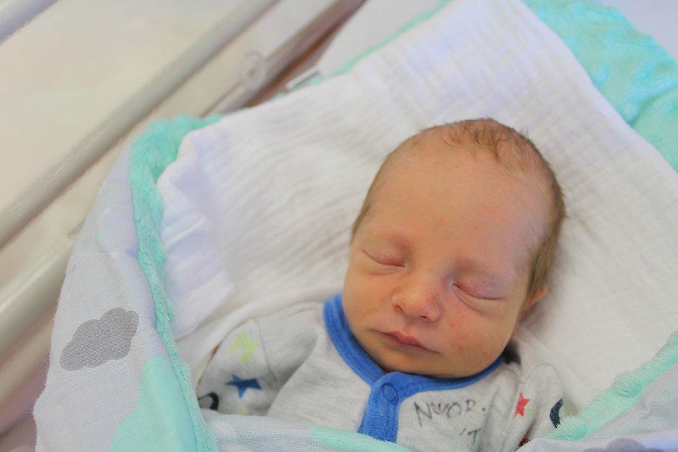 Maxmilián Petrásek zKolovče se narodil vklatovské porodnici 24. srpna ve 14:30 hodin (2670 g). Pohlaví svého druhorozeného miminka znali dopředu pouze rodiče Petra a Jiří. Pro ostatní byl chlapeček překvapením. Na malého brášku se doma těší dvouletý Tob