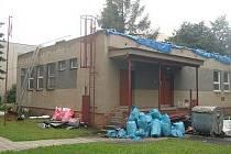Mateřská škola U Pošty je jednou z budov města Klatovy, ve kterých se uskutečňují v srpnu stavební práce.