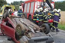 Vážná nehoda u Čínova