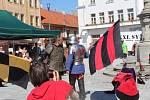 Na horažďovickém náměstí se na Slavnostech kaše sešly davy lidí