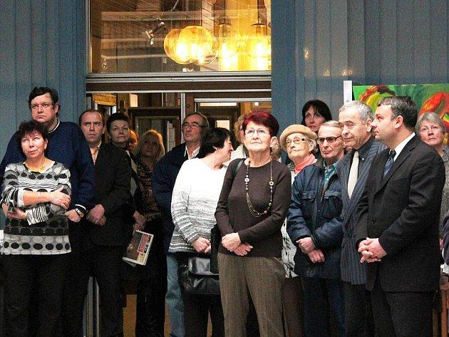 Zahájení výstavy k 200. výročí založení klatovského gymnázia