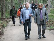 otevření návštěvnického centra věnovaného jelenům u Šumavské Kvildy