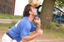 Nohejbalový turnaj trojic v Otíně