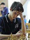 Šachisté Šachklubu Sokol Klatovy vyhráli mládežnickou extraligu. Na fotografii je Jan Miesbauer.