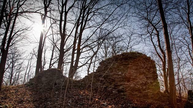 Zříceninu hrádku Kokšín najdete na strmém vrchu nad řekou Úhlavou, necelé dva kilometry od Švihova.
