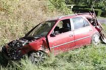 Nehoda u Velhartic.