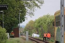 Železniční nehoda v Bezděkově.