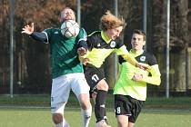 Divize 2016/2017: Sušice (zelené dresy) - Sedlčany 0:3