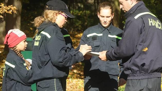 Závod hasičské všestrannosti v Horažďovicích