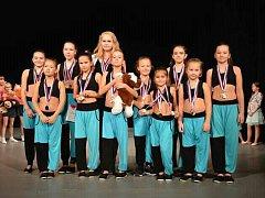 Klatovská skupina Diamond Dance přivezla tři zlaté a jednu stříbrnou medaili.
