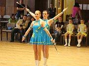 V Klatovech se o víkendu 8. a 9. dubna konal Národní šampionát mažoretek v kategoriích sólo a duo klasická mažoretka.