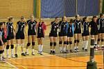 VOLEJBALISTKY KLATOV (na archivním snímku) o víkendu dvakrát přehrály poslední České Budějovice a v nováčkovské sezoně druhé ligy žen získaly už deset bodů.